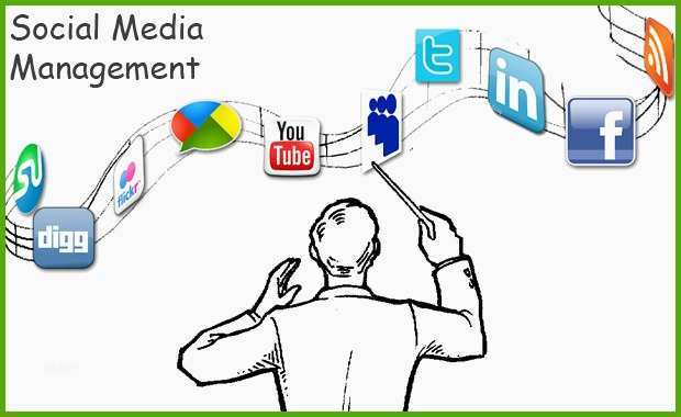 a typical day for a social media manager infographic