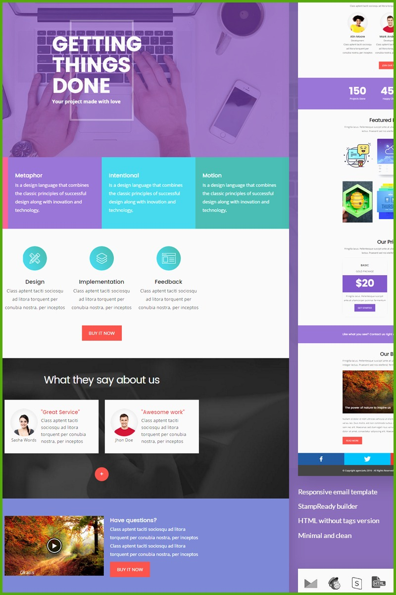 newsletter templates tipo