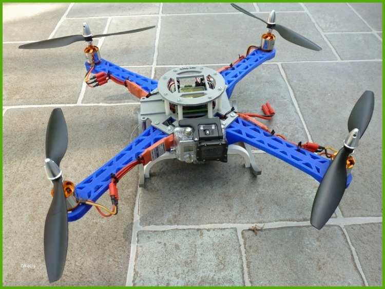 2nd 3d printed quadcopter
