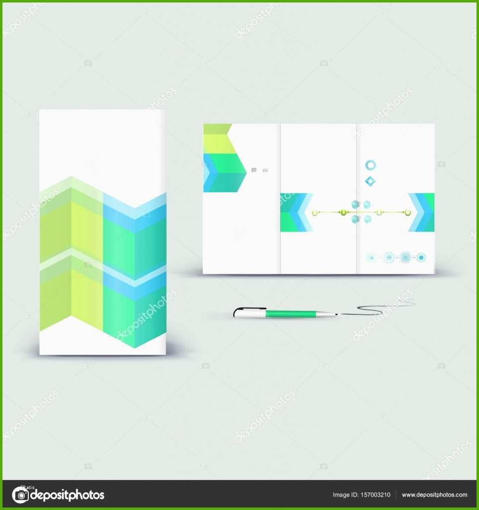 stock illustration booklet promotion template