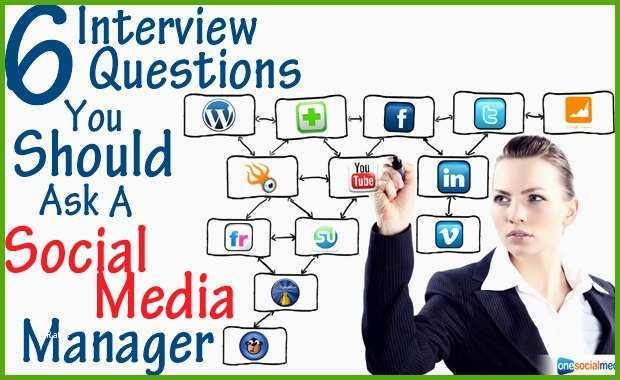 6 interview questions you should ask a social media manager
