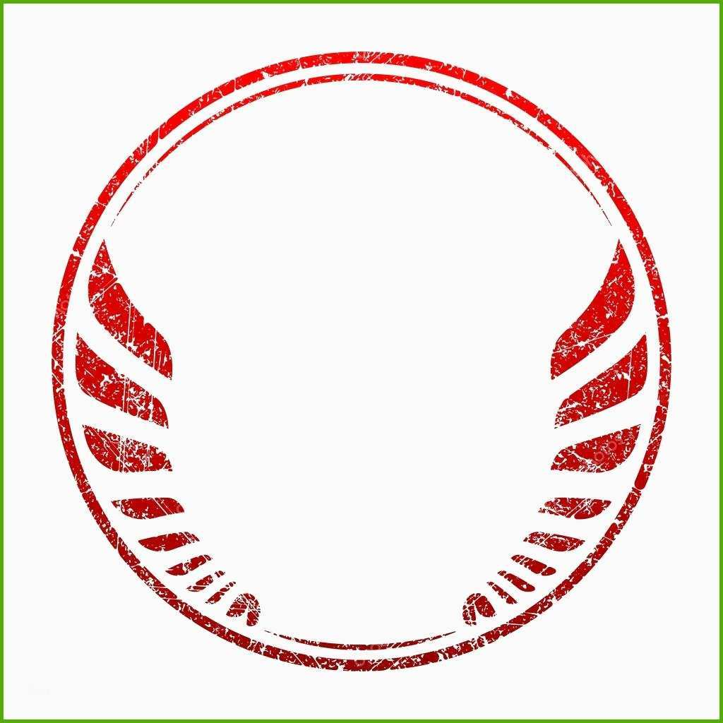 stock illustration red grunge rubber stamp template